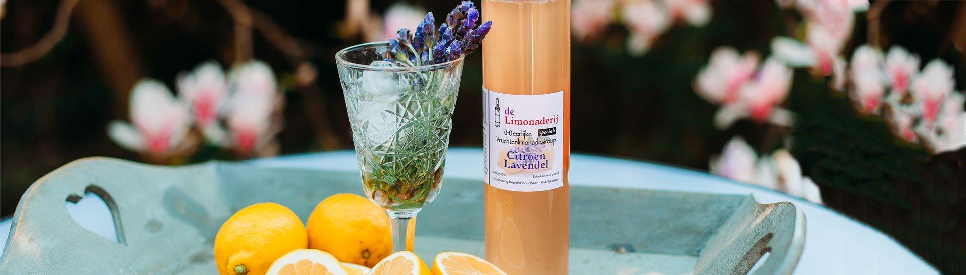 De Limonaderij, 100% natuurlijke limonade siropen