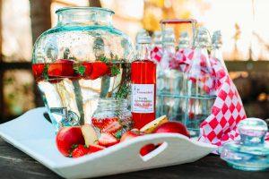 limonade siroop appel aardbei
