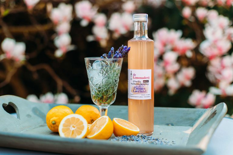 limonade siroop citroen lavendel