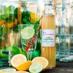 Limonade siroop <br /> Munt-Citroen