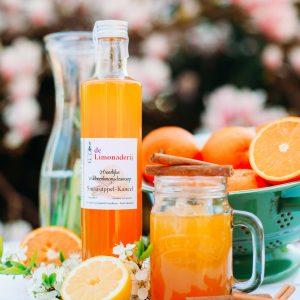 limonade siroop sinaasappel kaneel