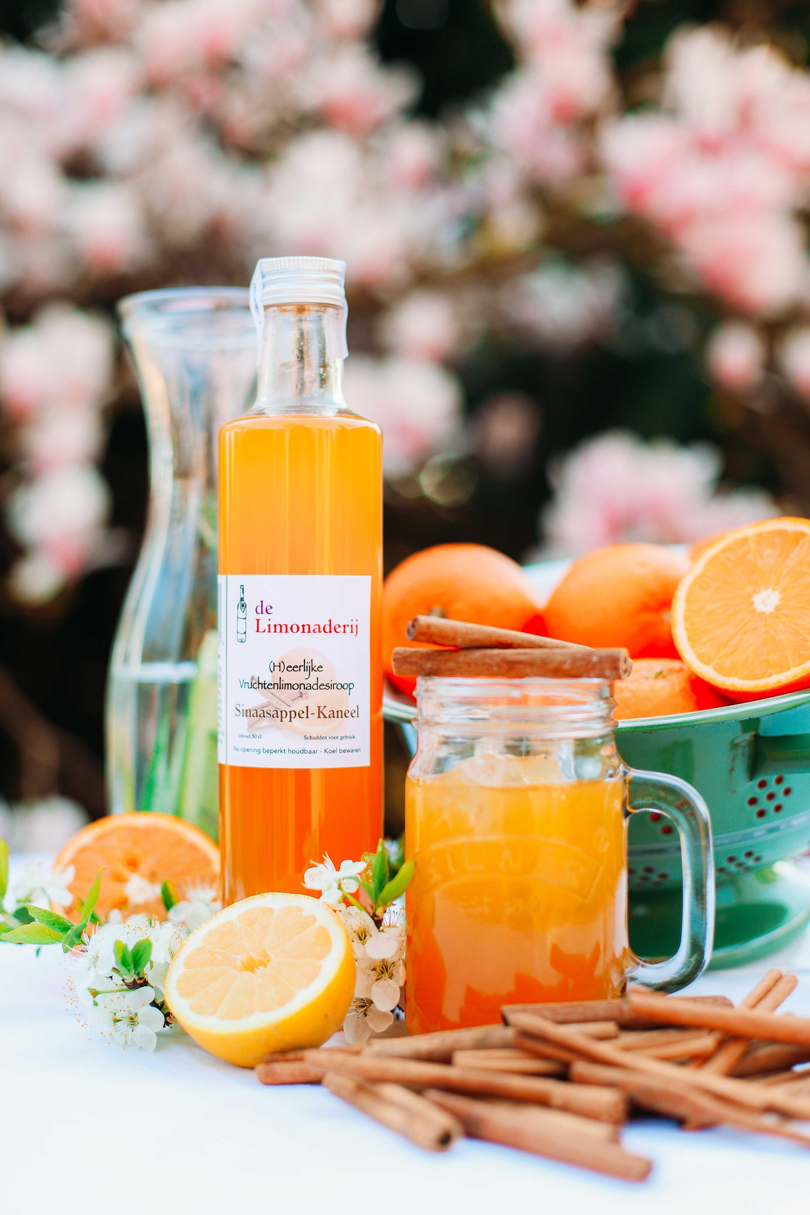 Limonade siroop <br /> Sinaasappel-Kaneel