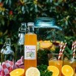 Limonade siroop <br />  Sinaasappel-Citroen en Munt